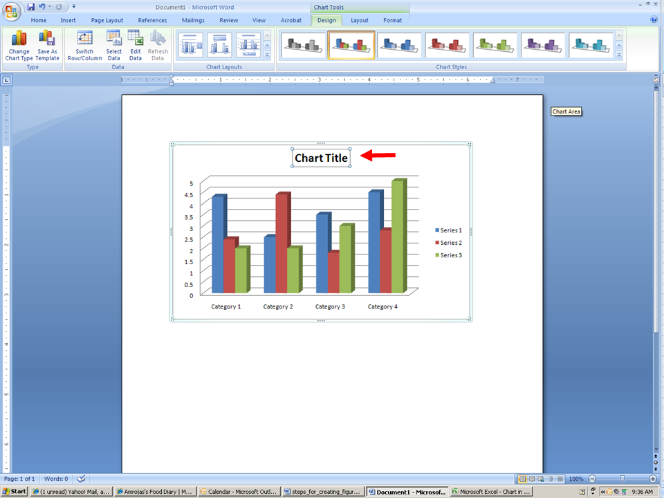 Creating a Bar Graph