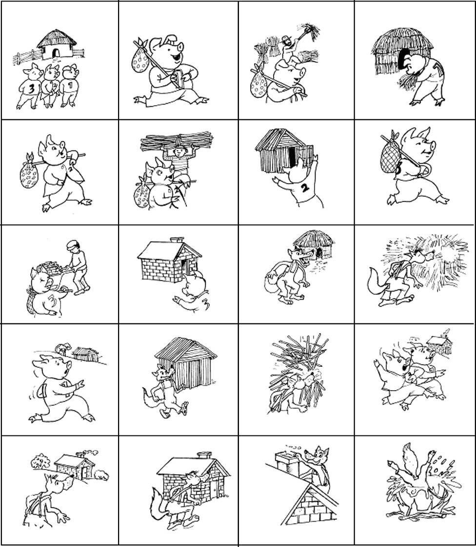 Three Little Pigs Sequencing Worksheet jannatulduniya – Three Little Pigs Worksheets
