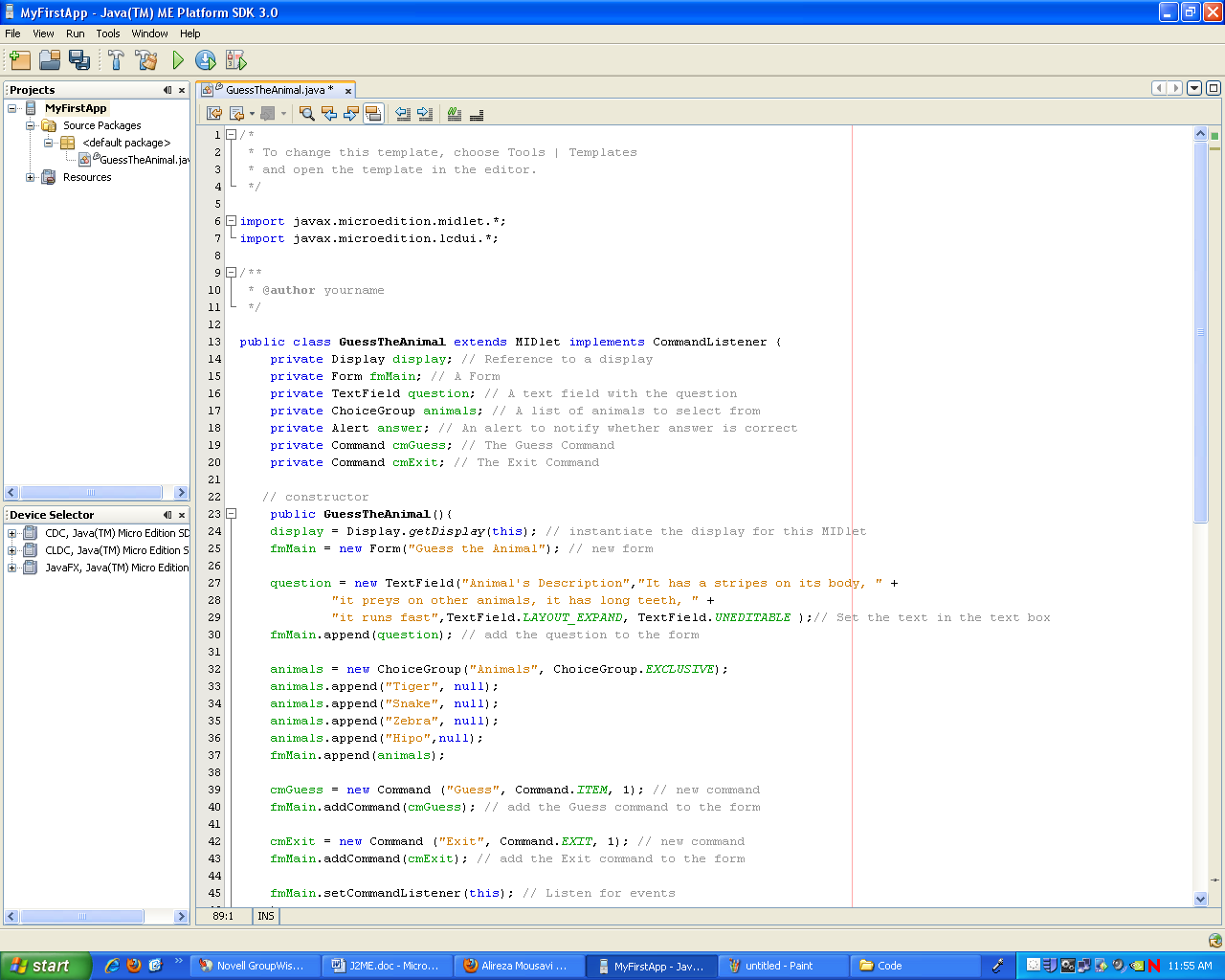 Now Your Ide Window Will Look Like The Following