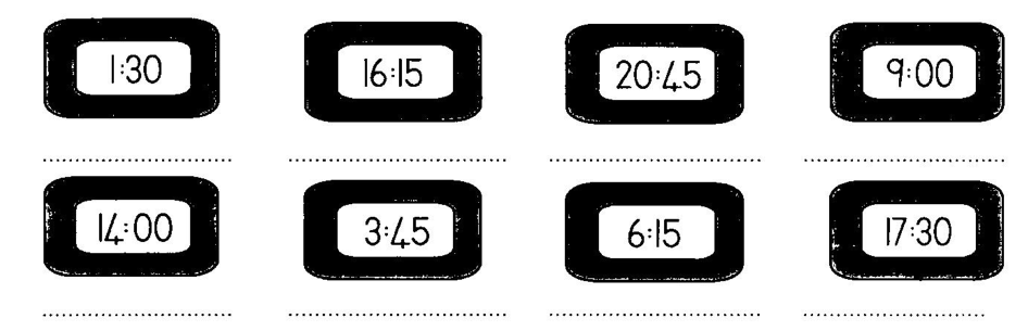 Printables Digital Clock Worksheets printables digital clock worksheets safarmediapps clocks use any method to solve the problems