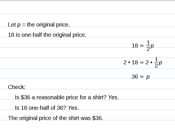 Math problem solving worksheet