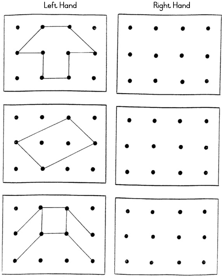 Printables Visual Perceptual Worksheets gr r module 4 numeracy 08 draw the same pattern in adjoining block