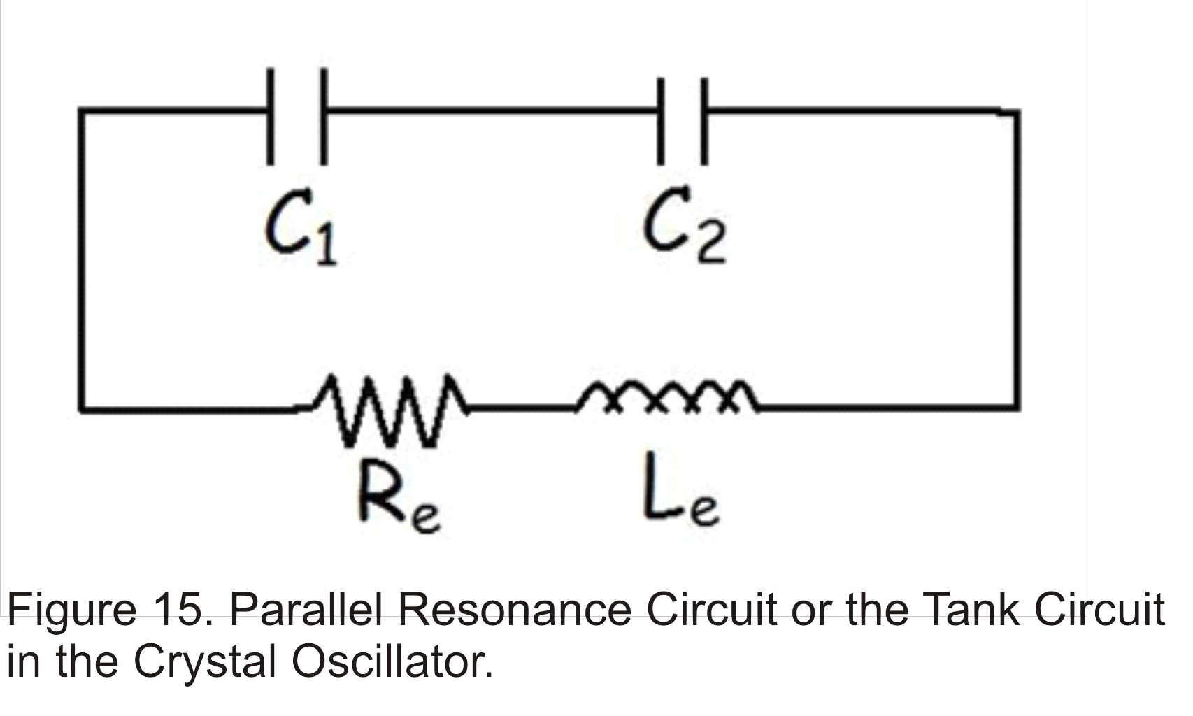 Ae Lecture11 Part3 Radio Frequency Oscillators Continued Element Oscillator Crystal Circuit Colpitts The Tank Of