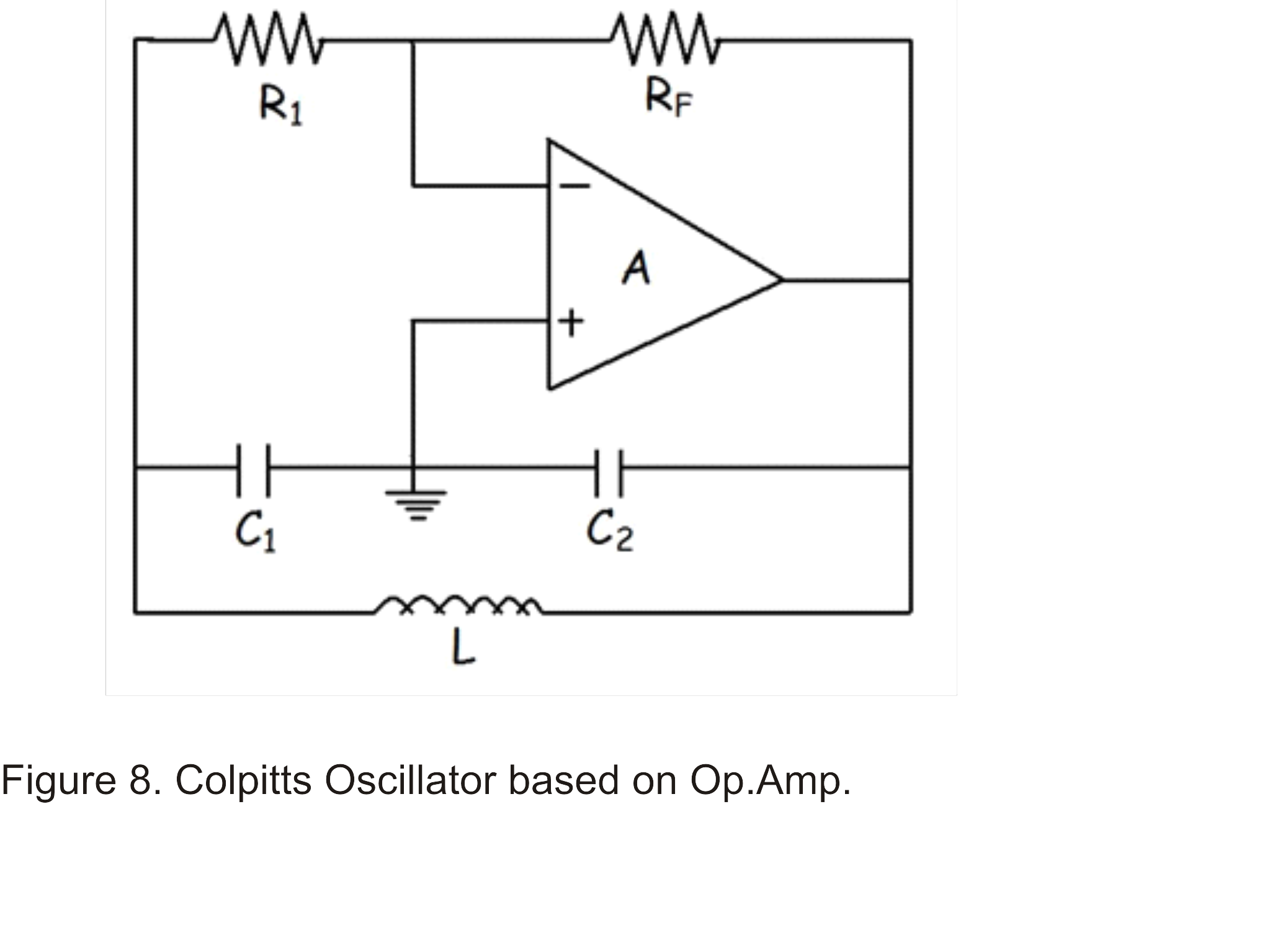 Ae Lecture11 Part3 Radio Frequency Oscillators Continued Op Amp Diagram Circuit Of Colpitts Oscillator