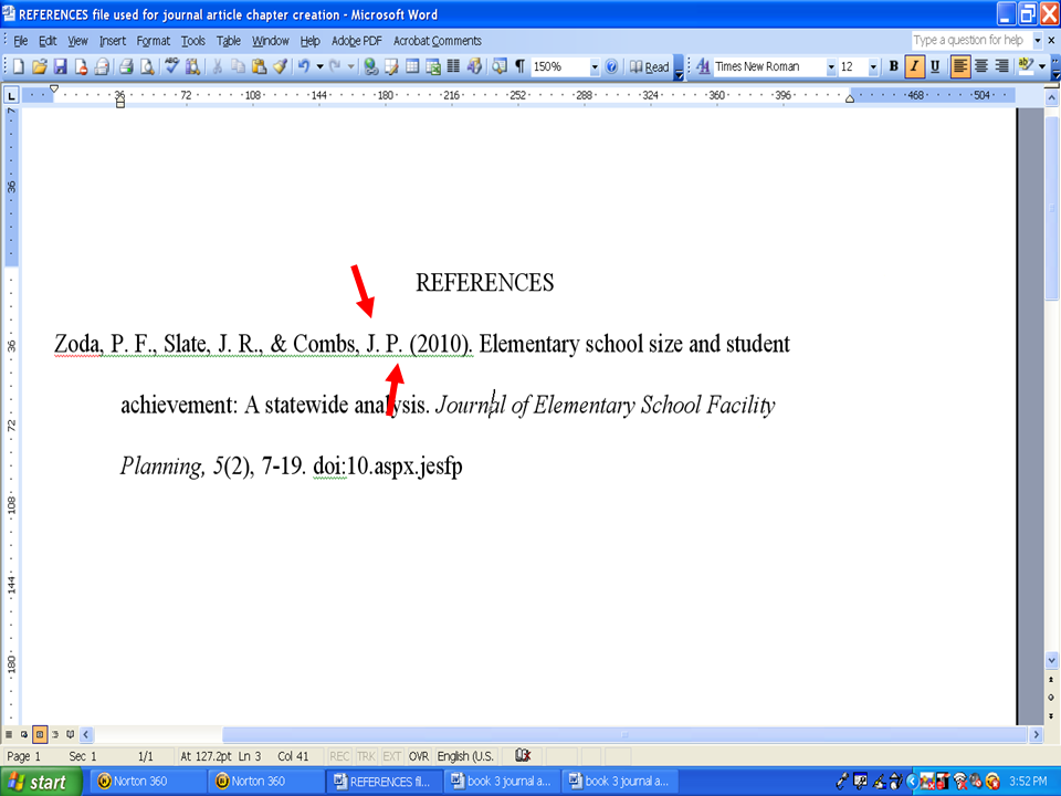 how to cross reference in an essay